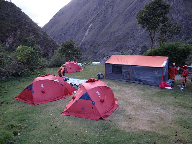 Camping Inca Trail