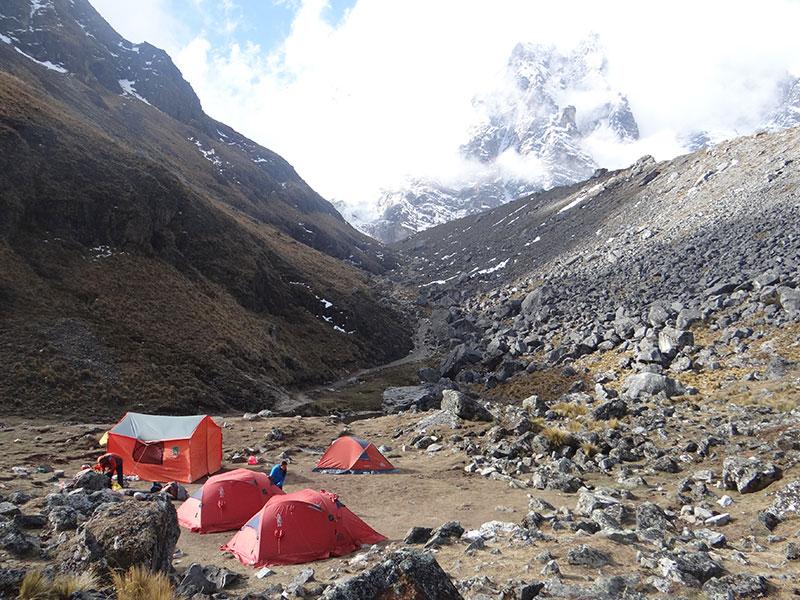 Camping Salkantay