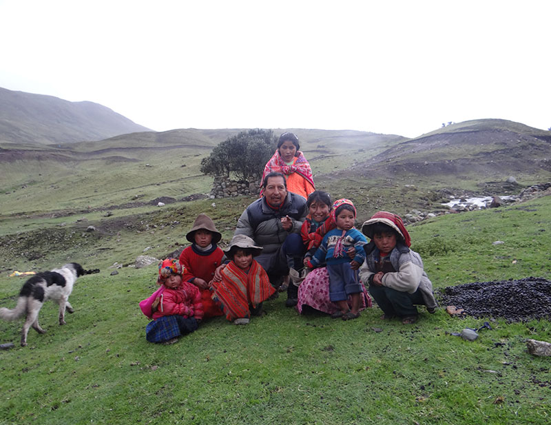 Native People in Lares