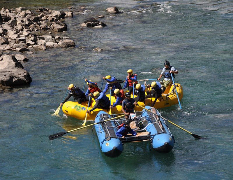Rafting Inca Jungle