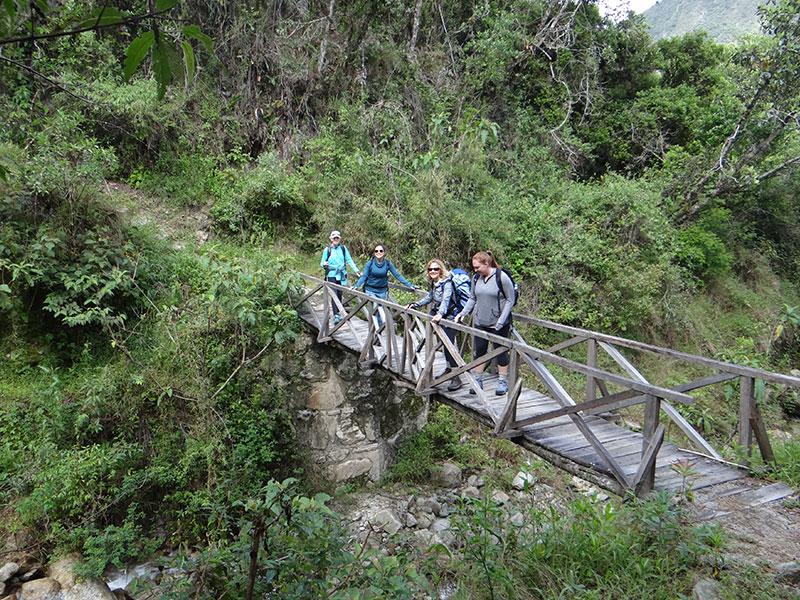 Bridge in Inca Trail