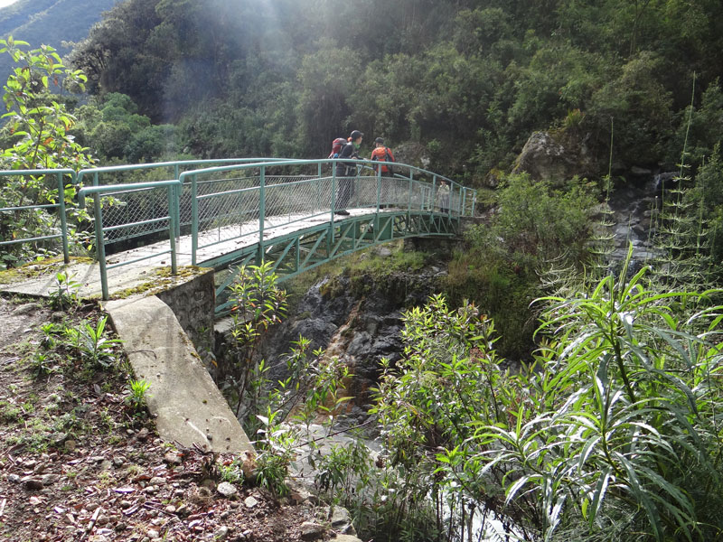 Bridge to Vilcabamba