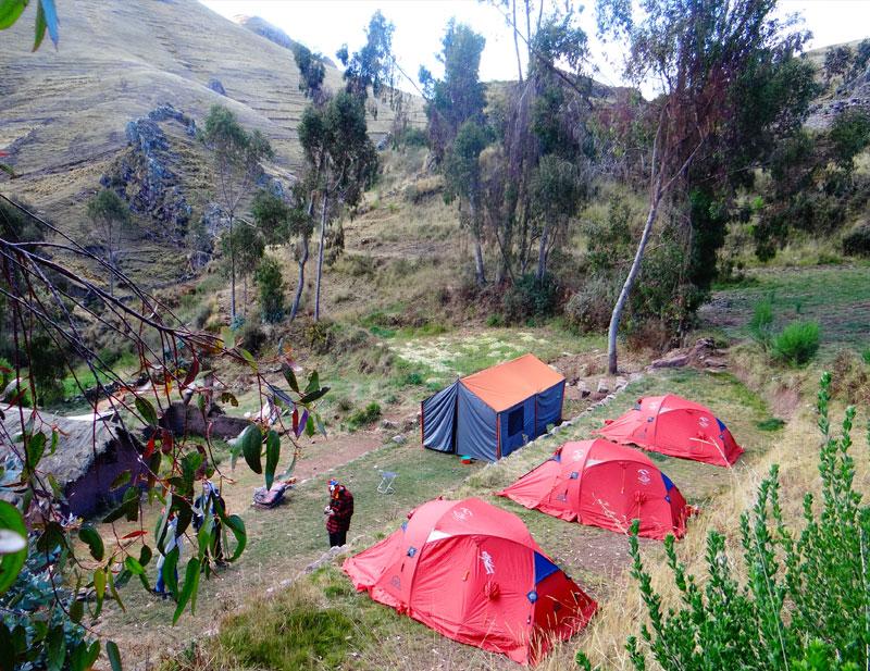 Camping Huchuy Qosqo