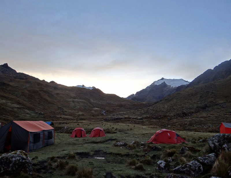 Vilcabamba Base Camp