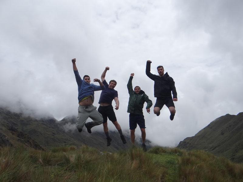 Trekking to Vilcabamba