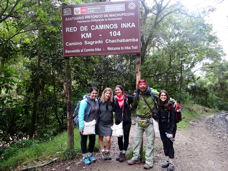 Start Inca Trail 2 Days