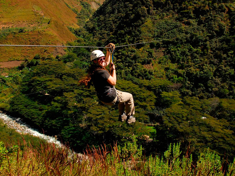 Zip Line Inca Jungle