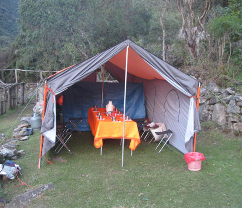 Eating Tent